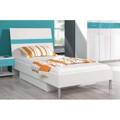 Łóżko RAJ 1 - wysoki połysk