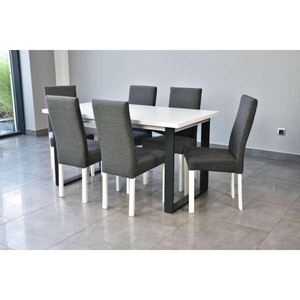 Stół z 6 krzesłami venice 150 cm rozkładany zmienić nazwe