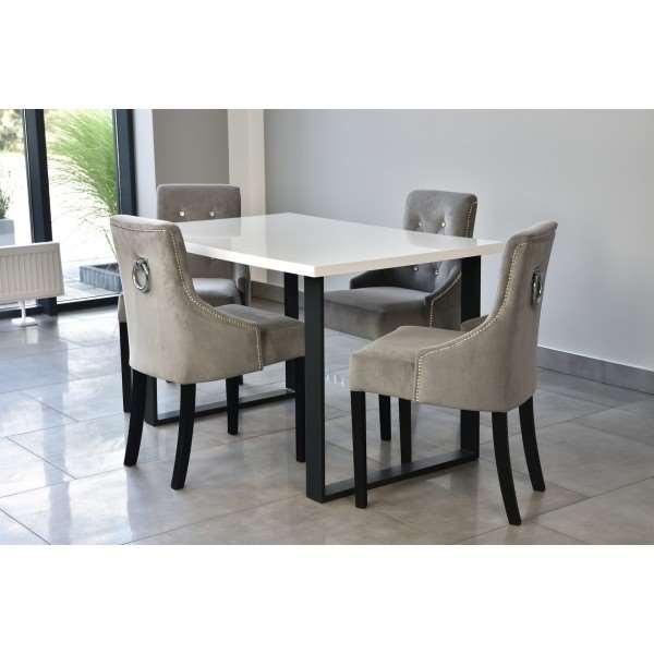 Stół z 4 krzesłami KARO
