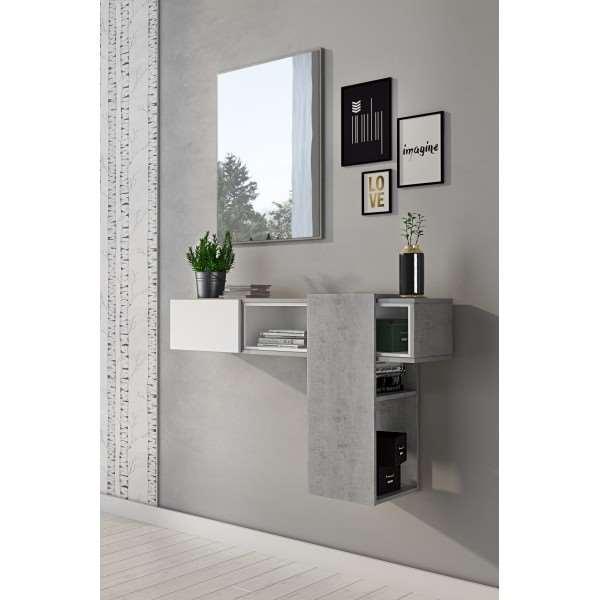 Garderoba podwieszana ARMADIO beton