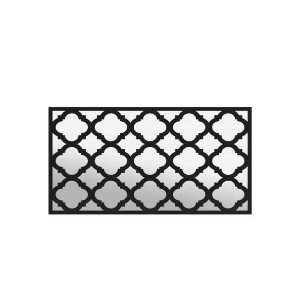 Panel ażurowy ścienny MAROCO