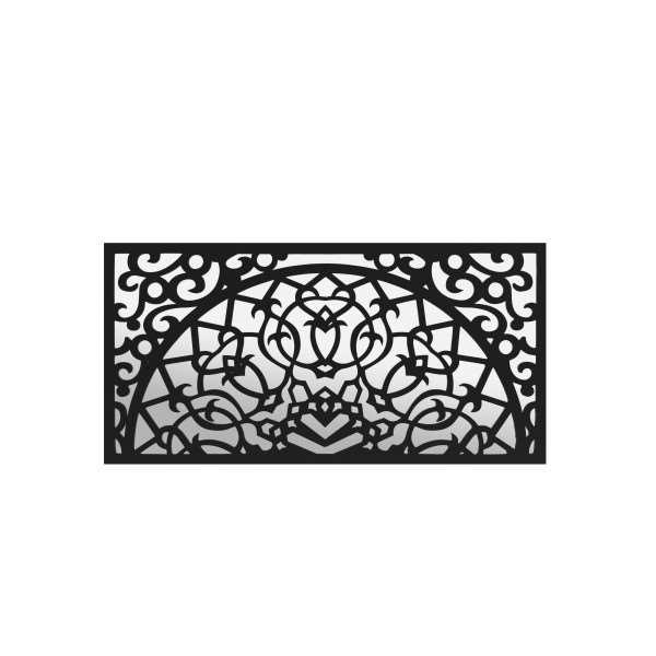 Panel ażurowy ścienny LISMORE