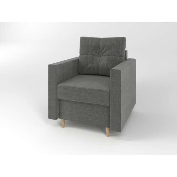 Fotel tapicerowany ROYAL Monolith 92
