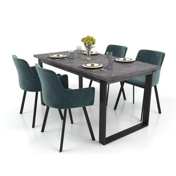 Zestaw mebli VENICE 150 - 190 cm stół rozkładany 4 krzesła