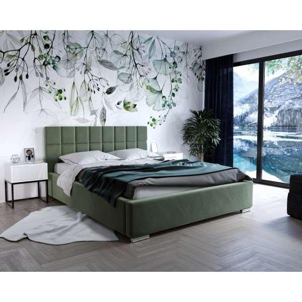 Łóżko tapicerowane HELEN