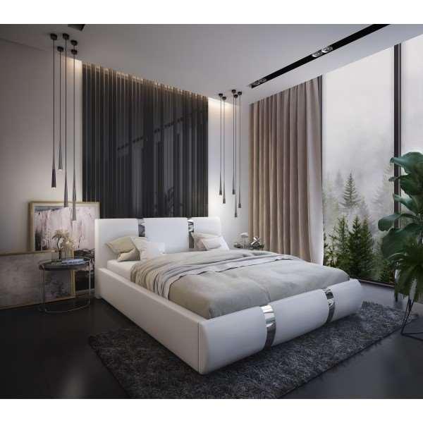 Łóżko tapicerowane RITA – Nowość!
