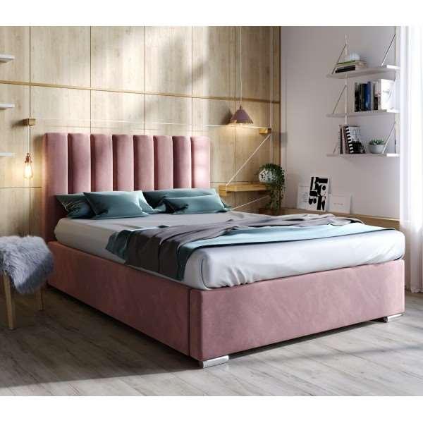 Łóżko kontynentalne MOLLY - French Velvet 682