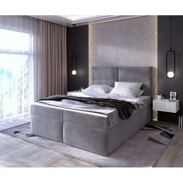 Łóżko kontynentalne EMMA Jasmine 90