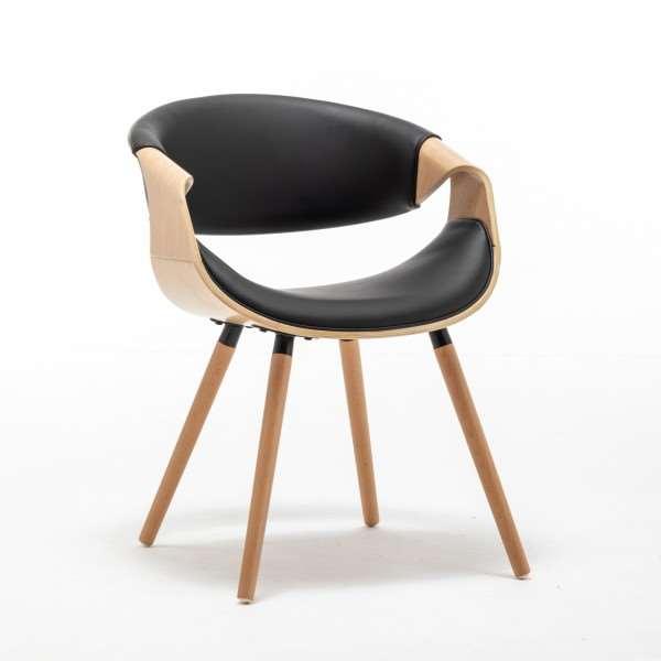 Krzesło tapicerowane MADERA BLANCO