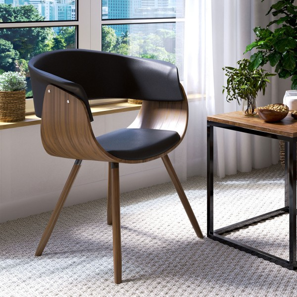 Krzesło tapicerowane MADERA NEGRO