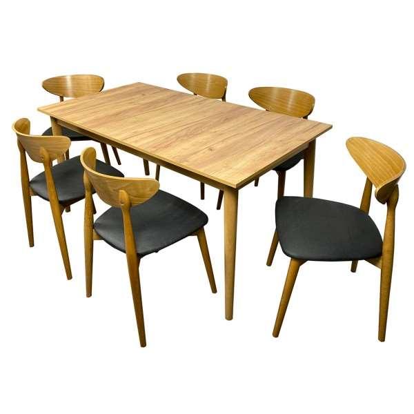 Zestaw mebli LUIS z 6 krzesłami