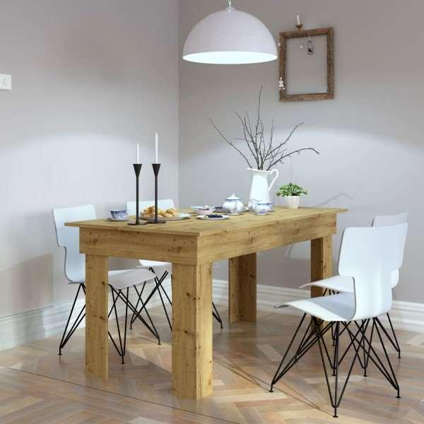 Stół GRAND 160 cm dąb artisan