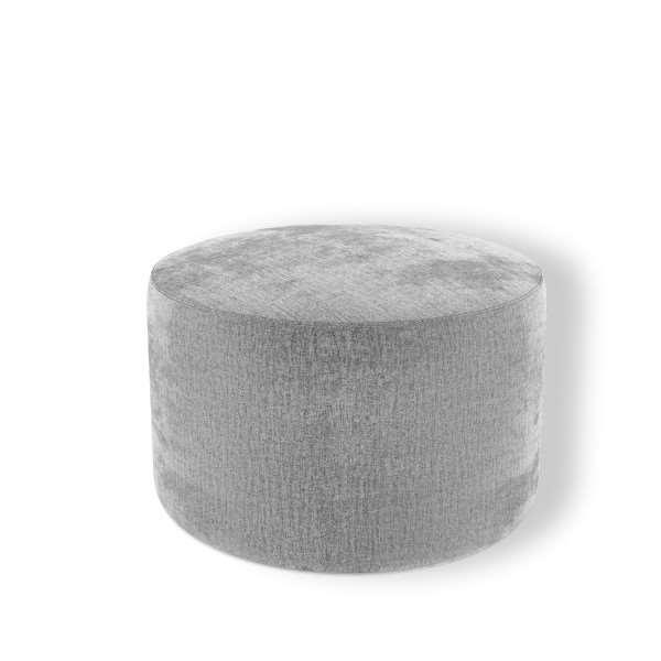 Okrągła pufa CIRI tapicerowana