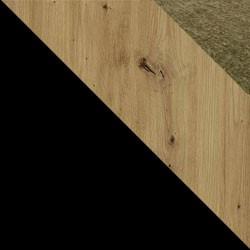Czarny / dąb artisan + Monolith 38