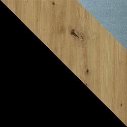 Czarny / dąb artisan + Monolith 72