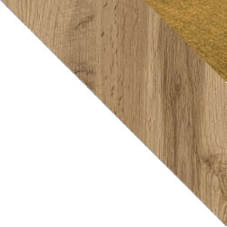Biały / dąb wotan + Monolith 48
