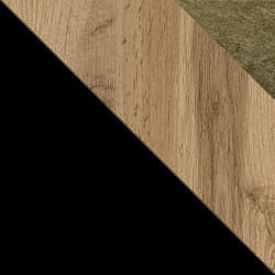 Czarny / dąb wotan + Monolith 38