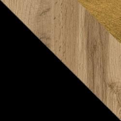 Czarny / dąb wotan + Monolith 48