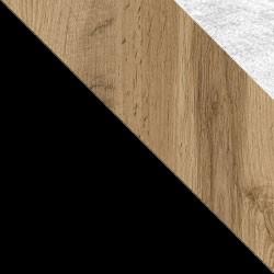 Czarny / dąb wotan + Monolith 84