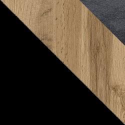 Czarny / dąb wotan + Monolith 97