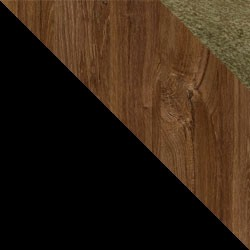 Czarny / dąb stirling + Monolith 38