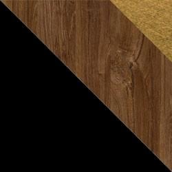 Czarny / dąb stirling + Monolith 48