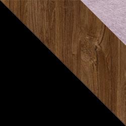 Czarny / dąb stirling + Monolith 62