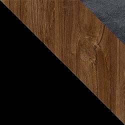 Czarny / dąb stirling + Monolith 97