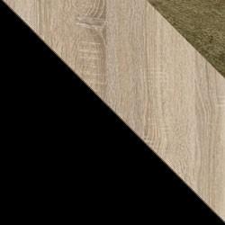 Czarny / dąb sonoma + Monolith 38