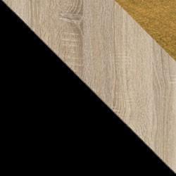 Czarny / dąb sonoma + Monolith 48