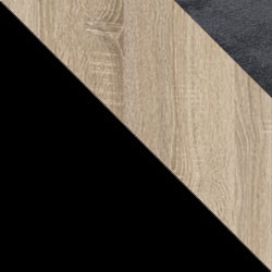 Czarny / dąb sonoma + Monolith 97
