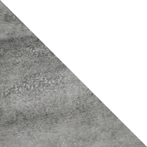 Beton + biały połysk