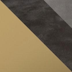 Złoty mat / ciemny beton + szary