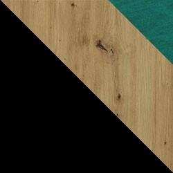 Czarny / dąb artisan + Monolith 37