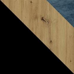 Czarny / dąb artisan + Monolith 77