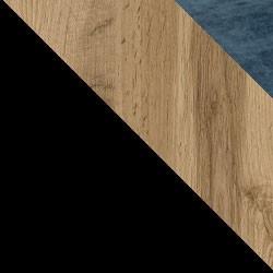 Czarny / dąb wotan + Monolith 77