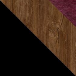 Czarny / dąb stirling + Monolith 69