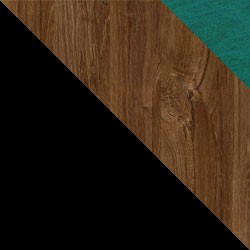 Czarny / dąb stirling + Monolith 37
