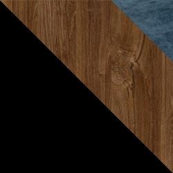 Czarny / dąb stirling + Monolith 77