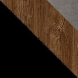 Czarny / dąb stirling + Monolith 85
