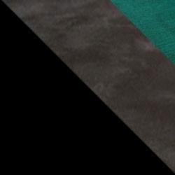 Czarny / ciemny beton + butelkowa zieleń