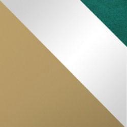 Złoty mat / biały połysk + Monolith 37